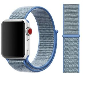 NEW[BAND] Tahoe blue Strap Loop For Apple Watch